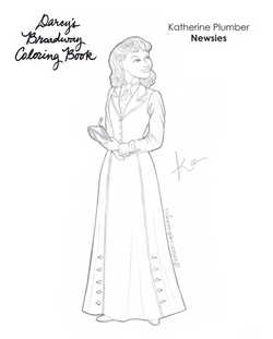 Katherine Coloring Book Page