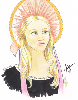 Amanda Seyfried Cosette Movie Art W