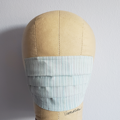 Blue Shimmer Thread Facemask