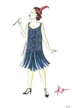 Flapper Christine W