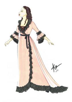 Dressing Gown Aminta