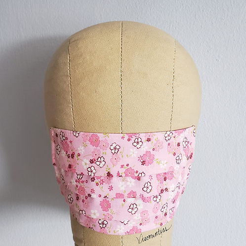 Pink Blossom Facemask