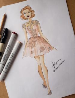Blush Tulle Dress W copy