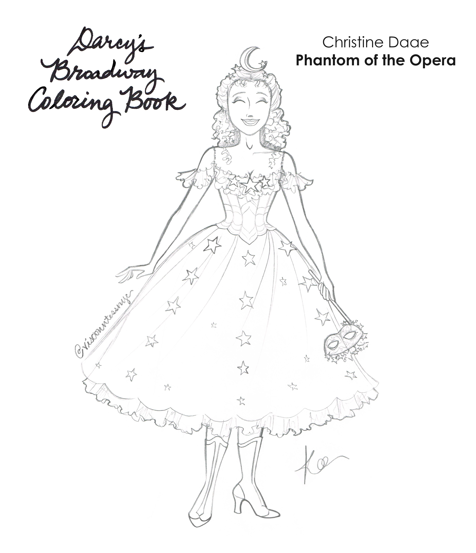 Star Princess Lineart