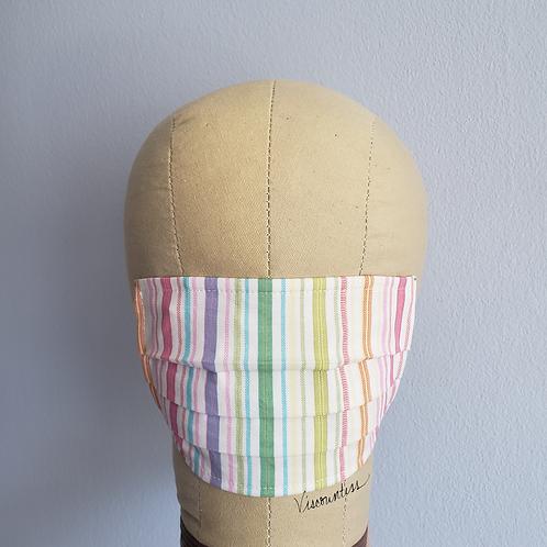 Rainbow Stripe Facemask