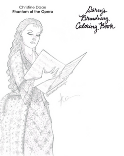 Wishing Gown Coloring Book Page
