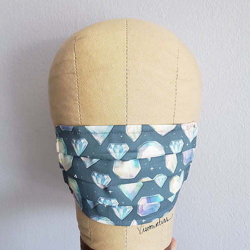 Whimsy Gemstone Facemask