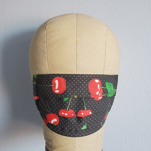 Pinup Cherries Facemask
