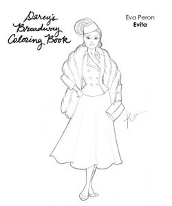Evita Coloring Page