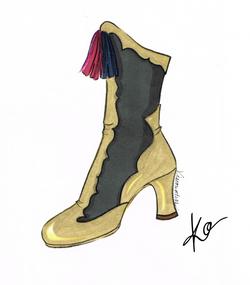 Triangle Girl Boot
