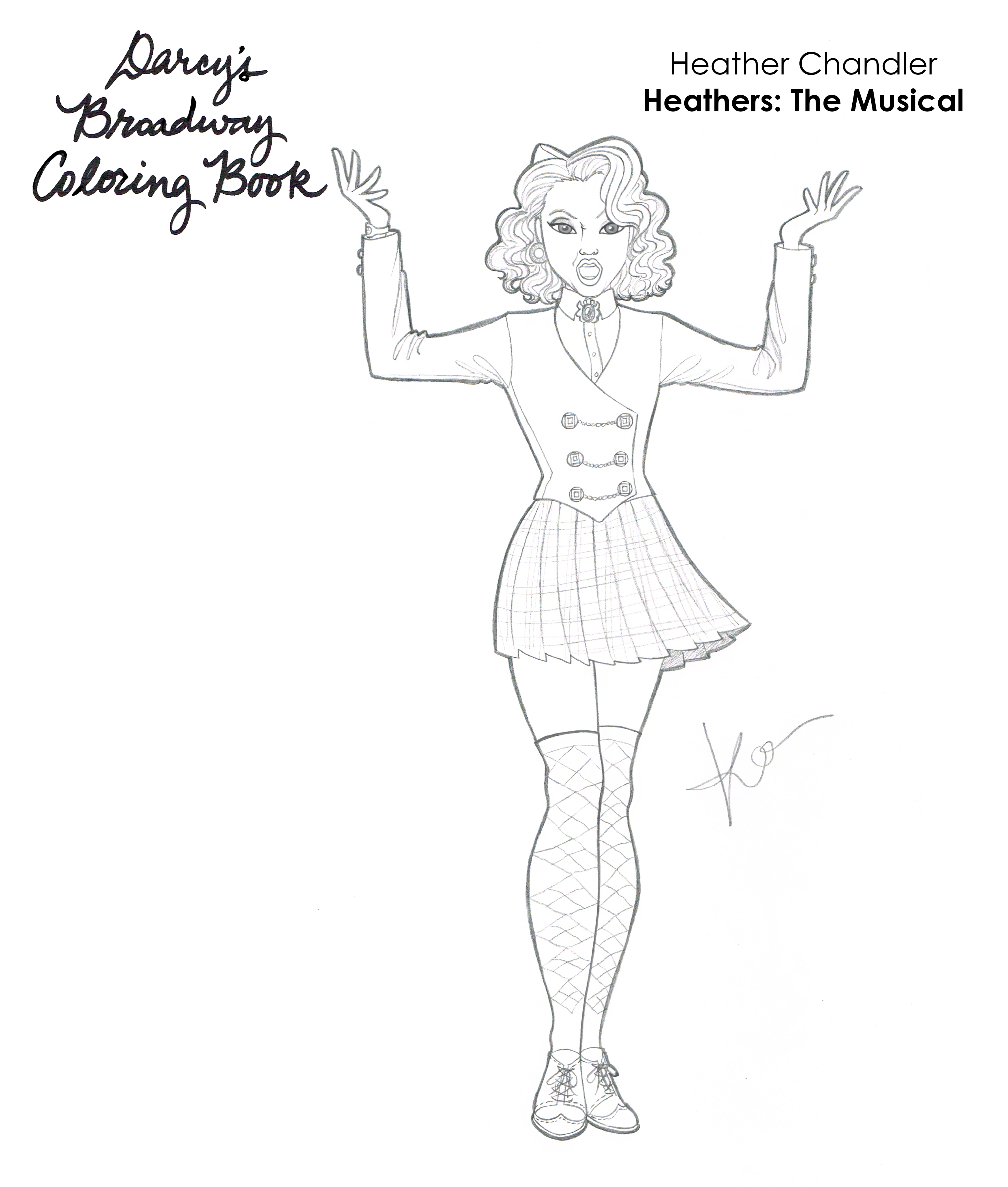 Heather Chandler Coloring Book