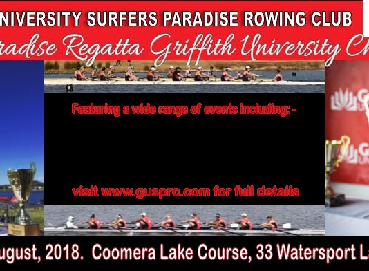 12th Paradise Regatta & Griffith University Challenge