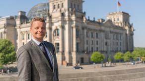 Besuchergruppe von Jens Beeck in Berlin zu Gast