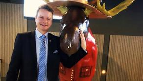 Beeck auf Delegationsreise in Kanada