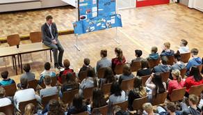 Beeck besucht am EU-Projekttag die Friedensschule in Lingen
