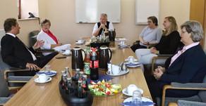 Beeck besucht Jugendhilfeeinrichtung Johannesburg in Papenburg