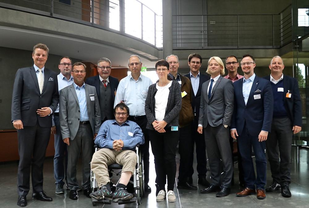Gruppenfoto der Teilnehmenden des Austausches.