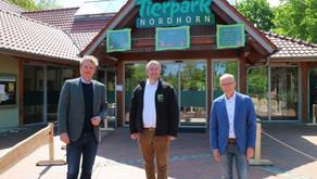 Beeck gratuliert dem Tierpark Nordhorn zur Auszeichnung