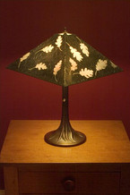 Oak Leaf Lamp