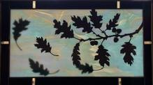 Oak Leaves in Flight