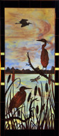 Herons & Cattails