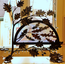 Sculpture with Oak Leaves