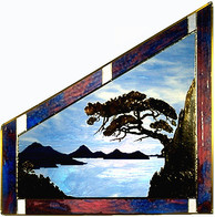 Chinese Landscape, trapezoid