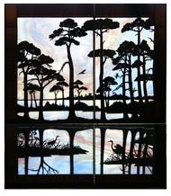 Everglades, backlit.