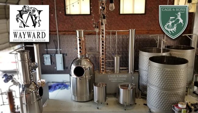 Cage and Sons at Wayward Distilling House