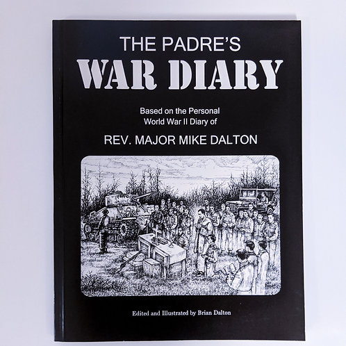 The Padres War Diary Book