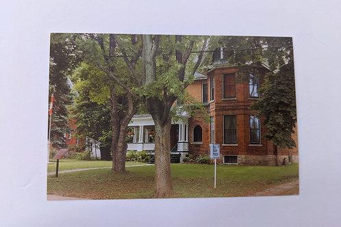 Billy Bishop House Post Card