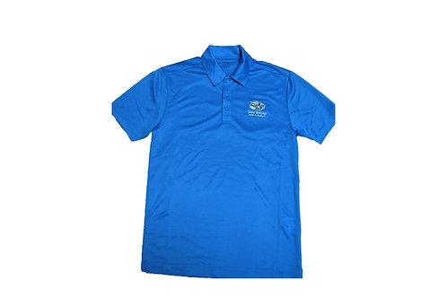 Men's Blue Golf Shirt