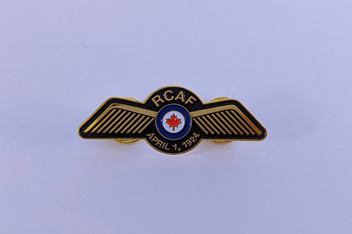 RCAF Pilot Wings Pin