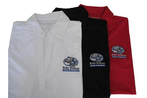 Women's White Golf Shirt