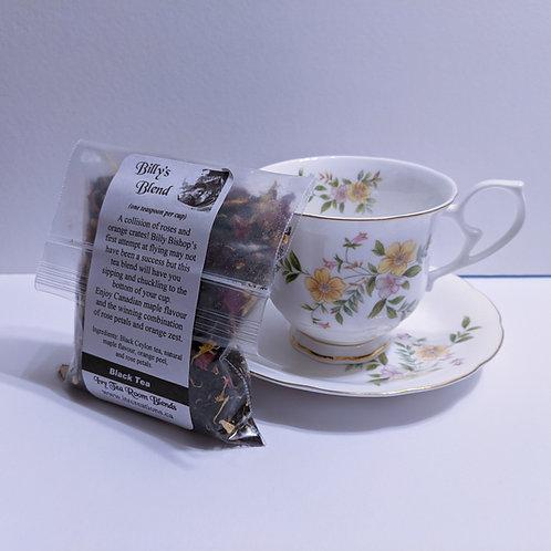 Tea Cup/Saucer and Billy's Blend Loose Leaf Tea