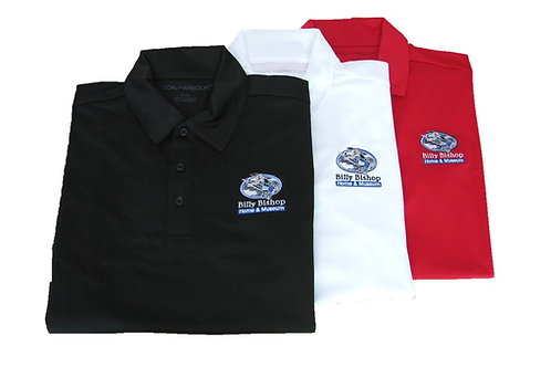 Men's White Golf Shirt