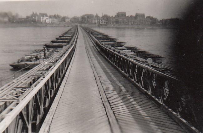 Emmerick Bridge Across Rhine
