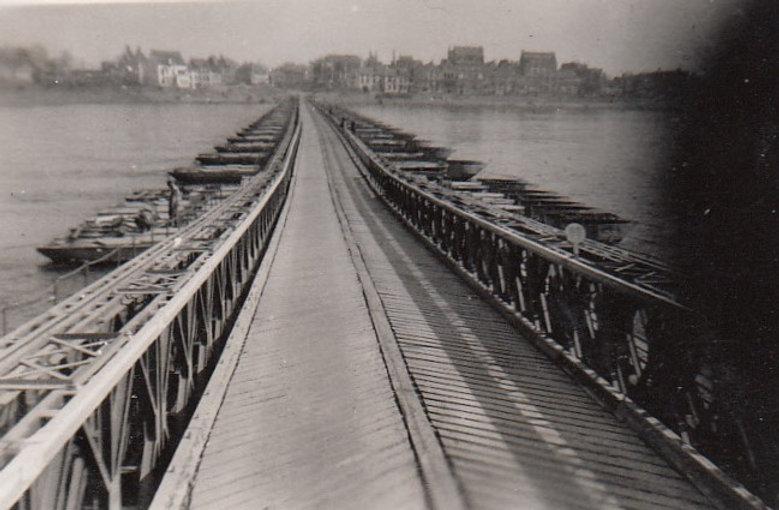 Emmerick Bridge Across Rhine. 16 Apr, 45
