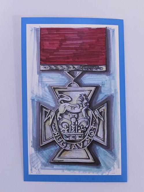 Victoria Cross Card