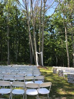 June Outdoor ceremony
