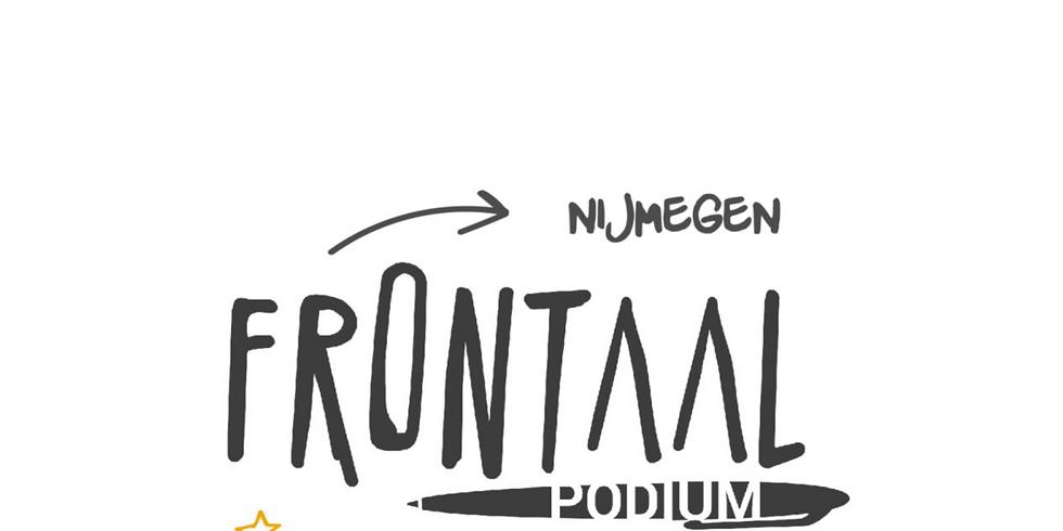 Frontaal Literair Podium X VIER #2