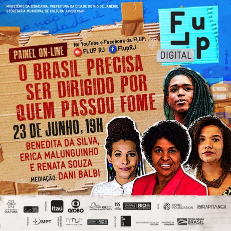 Benedita da Silva, Erica Malunguinho e Renata Souza discutirão o feminismo negro na política
