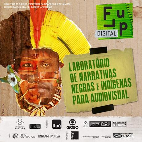 Inscrições ABERTAS para o Laboratório de Narrativas Negras e Indígenas para Audiovisual