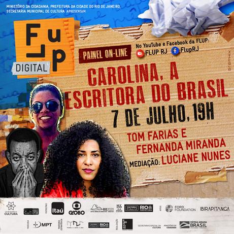 Carolina, a escritora do Brasil