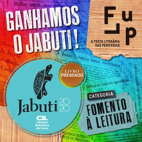 Flup é ganhadora do Prêmio Jabuti 2020
