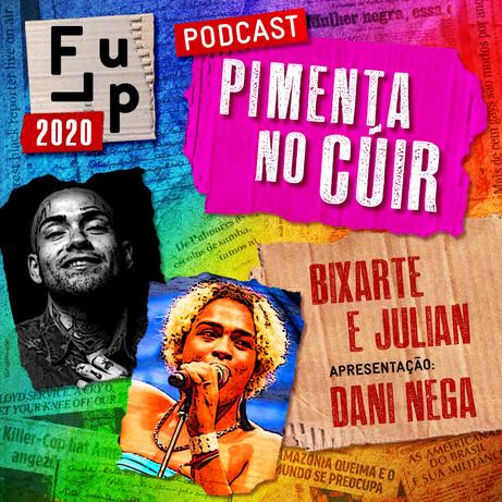 O Podcast Pimenta no Cúir já está disponível no Spotify!