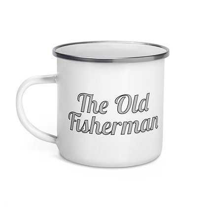 The Old Fisherman Enamel Mug