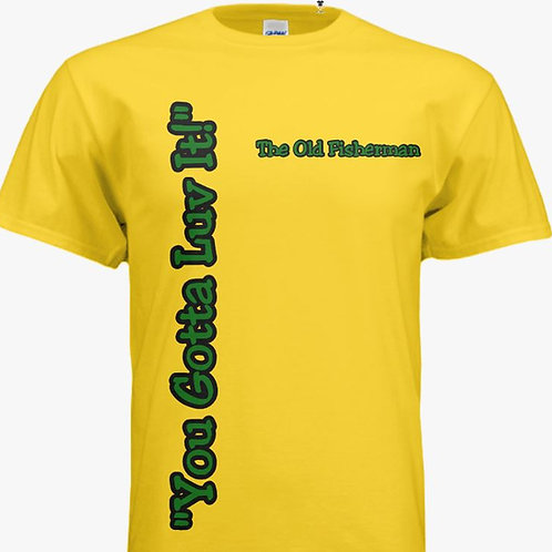 "Yellow ""You Gotta Luv It!"" Tee-Shirt"