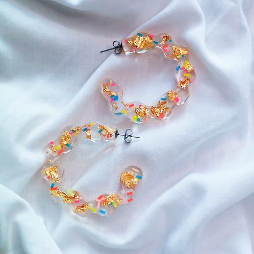 Sprinkles Hoop Earrings