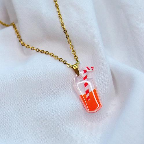 Orange Juice Necklace